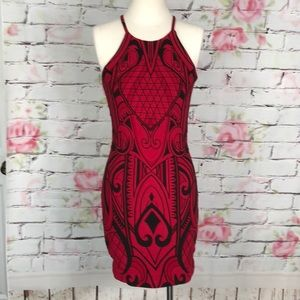 Parker sexy body con open back party dress
